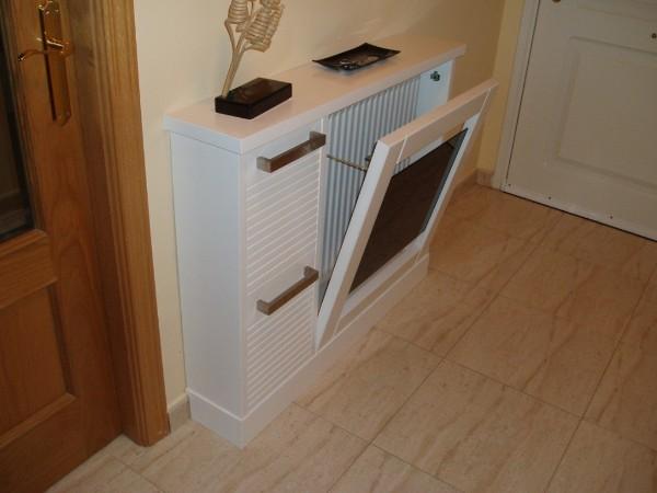 Muebles auxiliares for Mueble cubreradiador