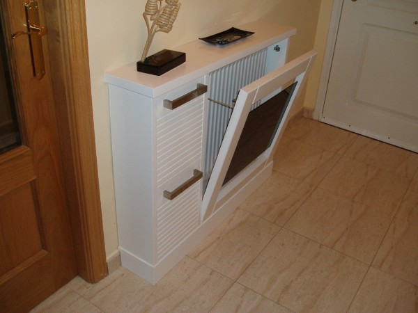 Cubreradiadores - Muebles con palets como hacer ...